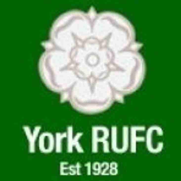 York RUFC -  Honours Cup Dinner