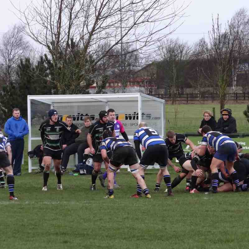 2nds v Driffield 21-01-17