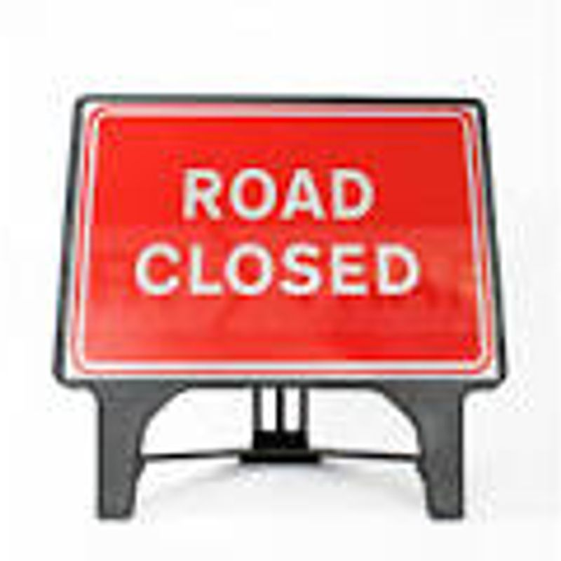 Weekend Road Closures on the A64