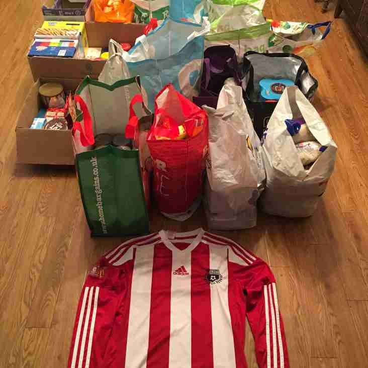Amazing Foodbank Donation