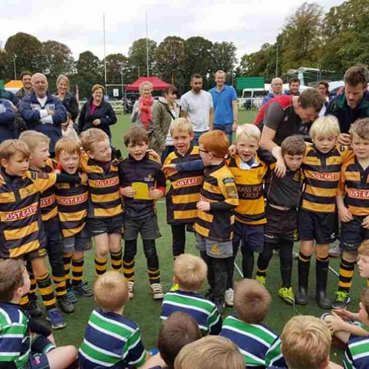 Tring U7s victorious at Henley Festival