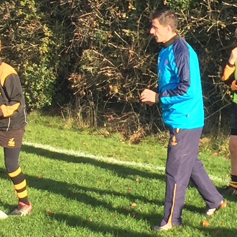 Visiting Coach to the U12s