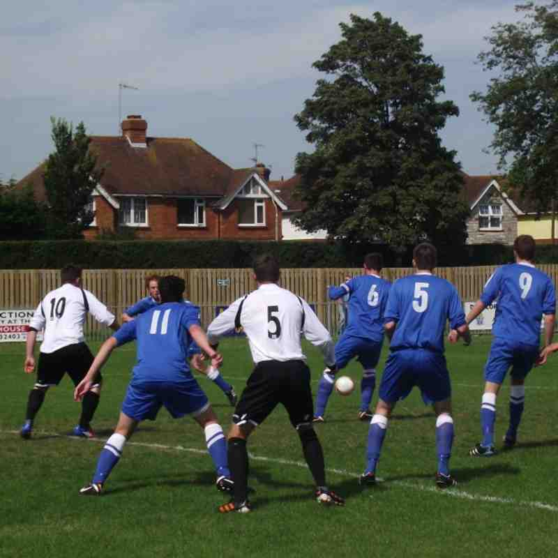 EUAFC vs Storrington - SCFL Division Two 11th August 2012