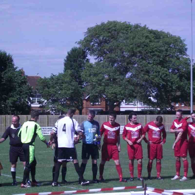 EUAFC vs Steyning Town - SCFL Division Two - 18th August 2012
