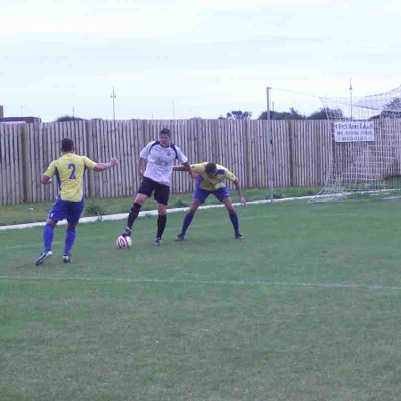 EUAFC vs Bexhill United - SCFL Division Two - 27th August 2012