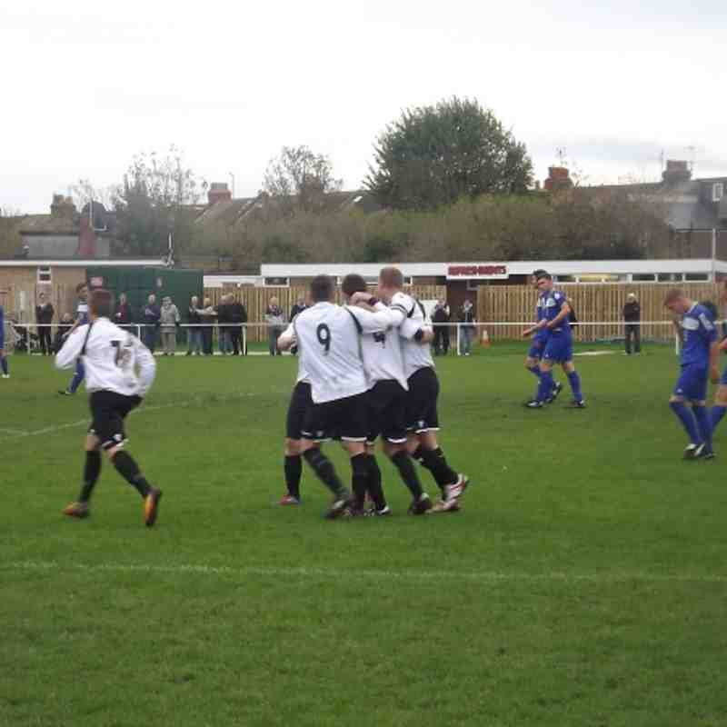 EUAFC vs Midhurst & Easebourne - Sussex Senior Cup - 20th October 2012