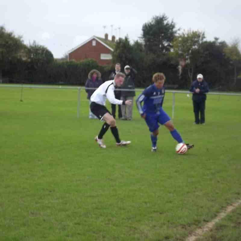 Rustington vs EUAFC - SCFL Division Two - Saturday 3rd November 2012