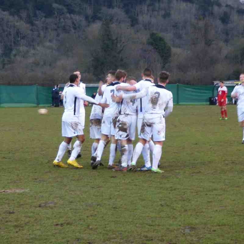 Dorking Wanderers vs EUAFC - Macron Store SCFL Division One - Saturday 17th January 2015