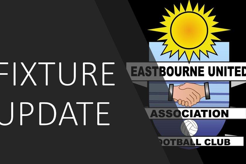 AFC Uckfield Fixture Rearranged