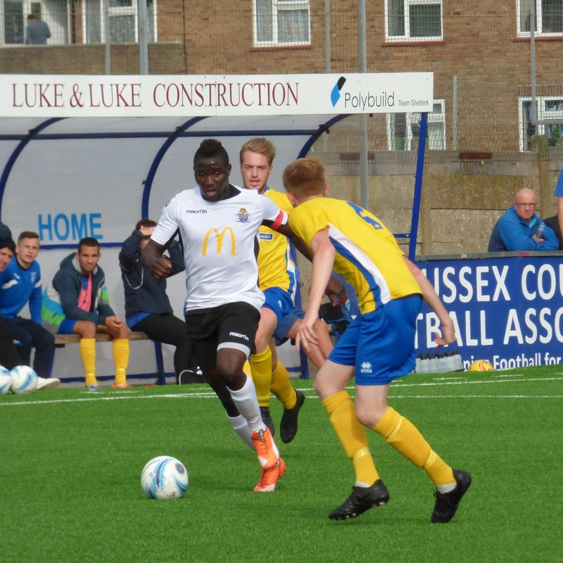 United Hit Four in Lancing Victory