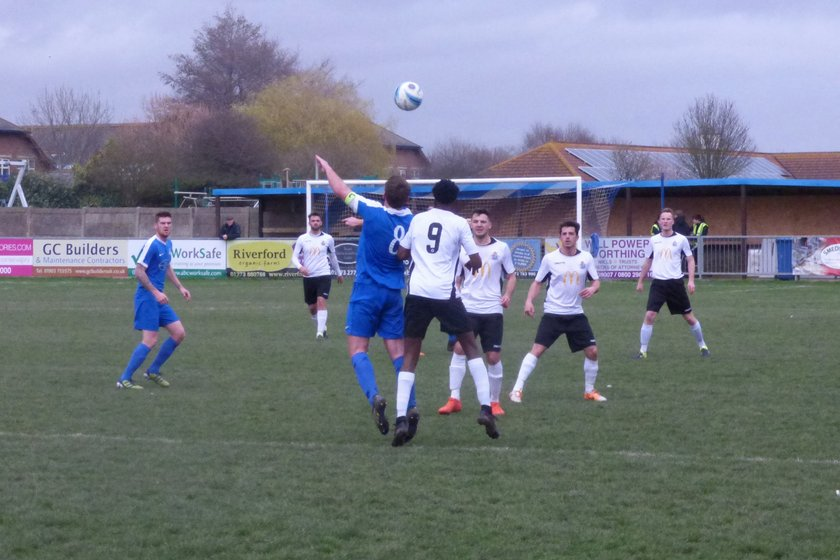 United Hit for Five by Ruthless Shoreham