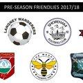 Pre-Season Fixtures Finalised