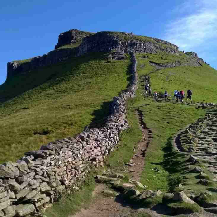 Yorkshire Three Peaks Fundraising Challenge