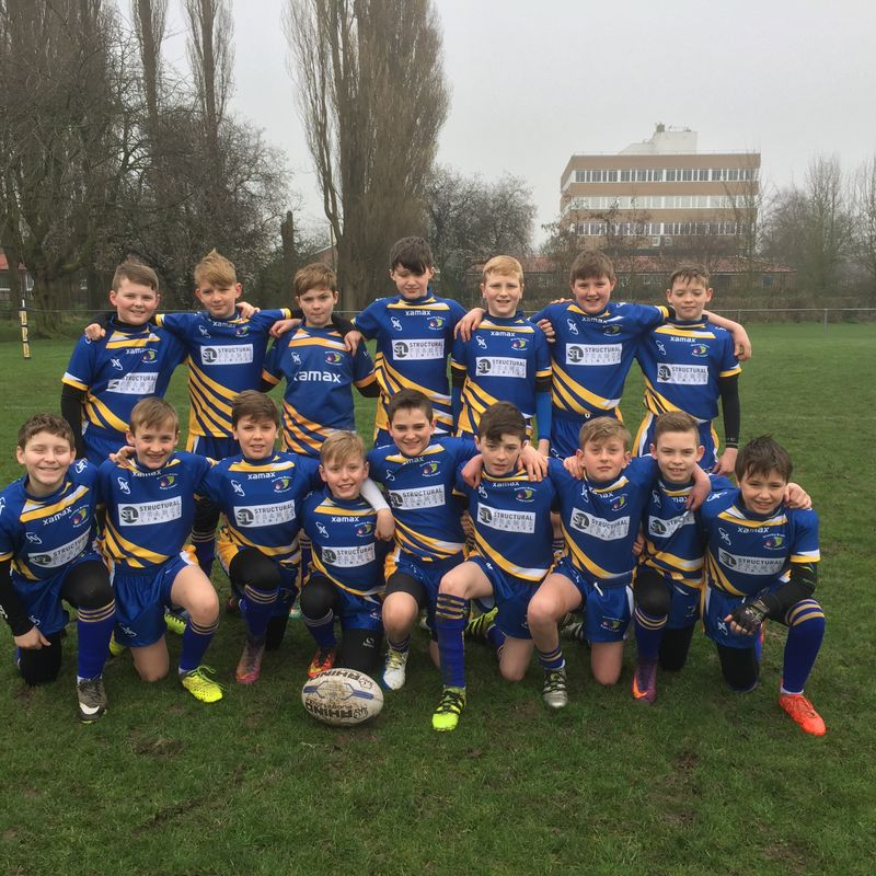 Under 12's lose to East Hull 36 - 12