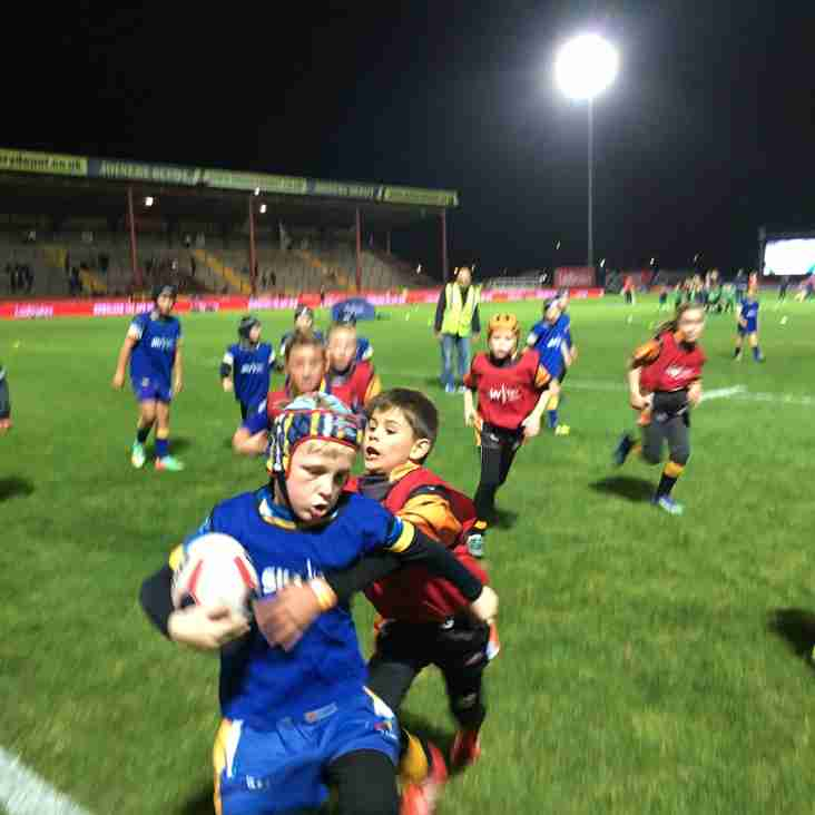 U9's Play Curtain Raises at Four Nations Opener