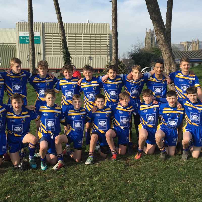 Under 14's beat Holderness Vikings U15 50 - 4