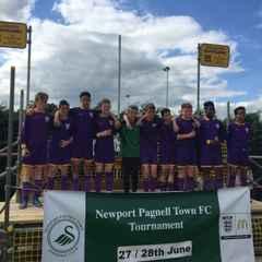 U13 Hawks Narrowly miss out at Newport