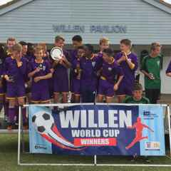 Shenley FC Hawks clean up in Willen World Cup Plate competition