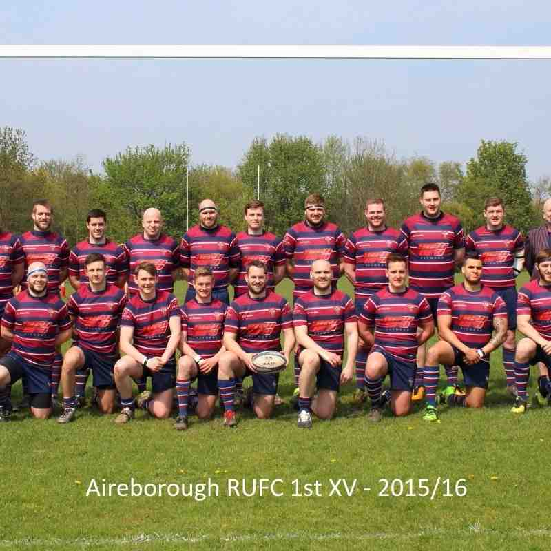 Senior Team Photos 2015/16
