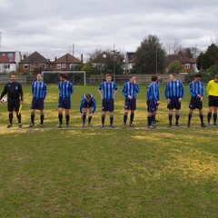 2nd XI AFA Intermediate Cup Final v NUFC Oilers at Actonians