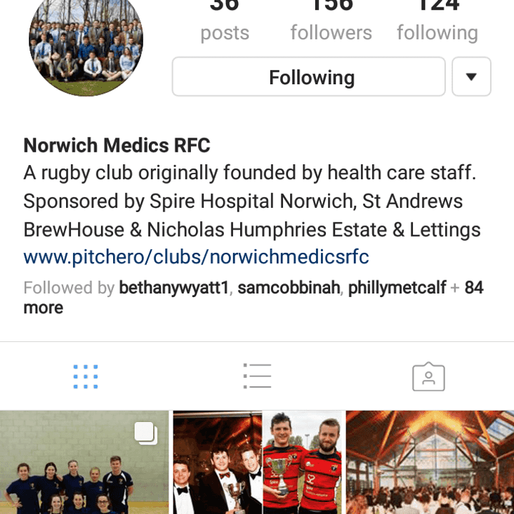 Club Instagram Launched!