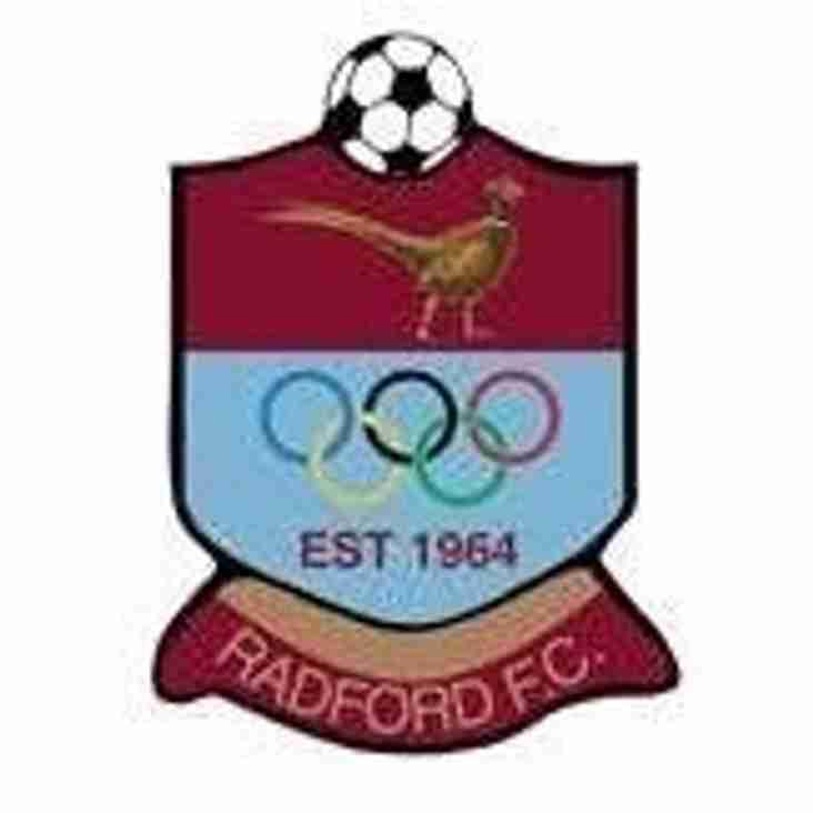 Radford retain Team Managers