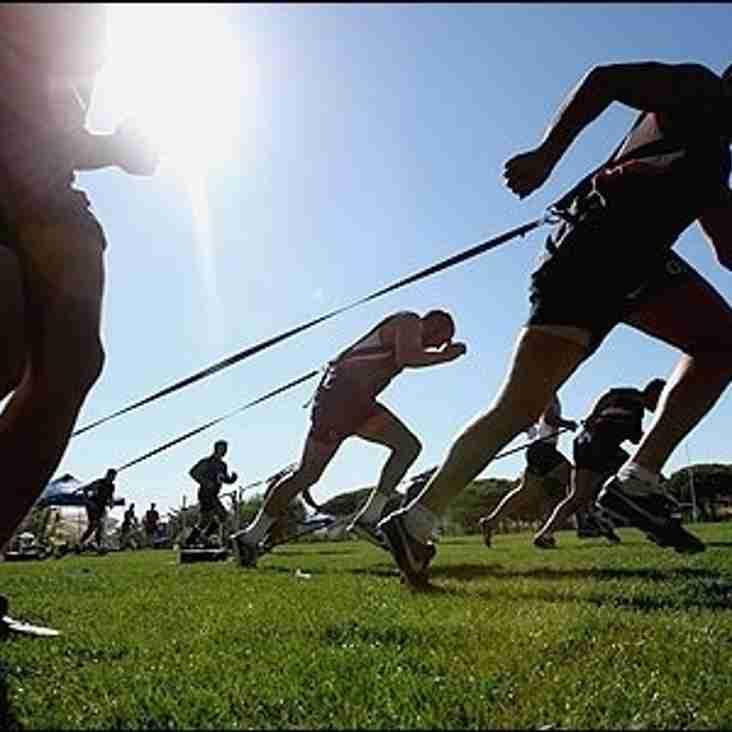 Pre Season Training Starts Tuesday 28th June