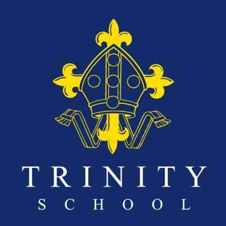 Good luck to Trinity School in their U18 Final
