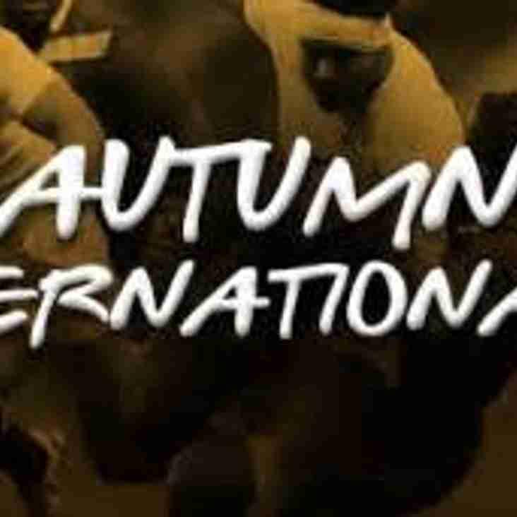 Autumn 2017 International Tickets
