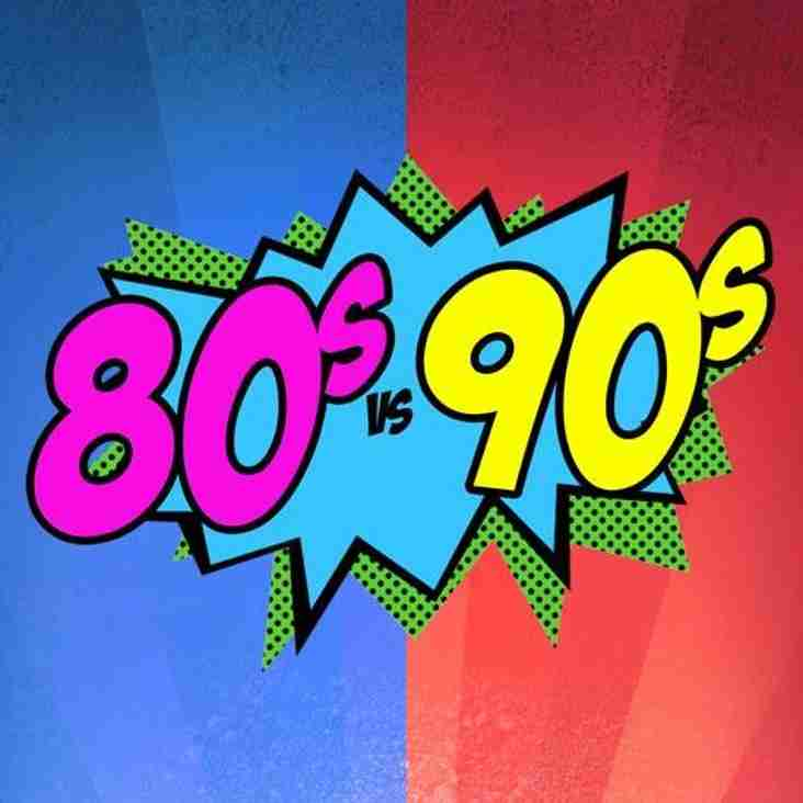 Club Social - Battle of the Decades - 80s v 90s