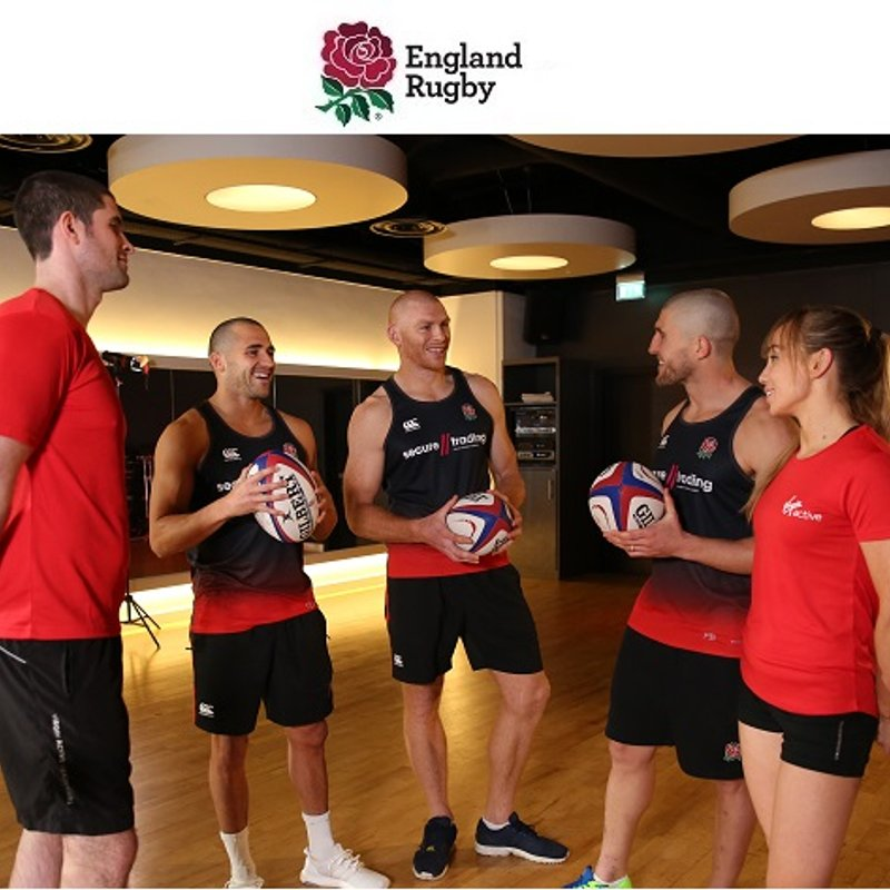 Improve your rugby training with England Rugby's Fit for Rugby challenge