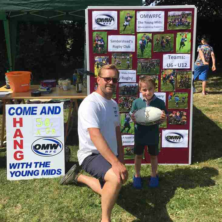 Young Mids Hang Out at Atwood & Gresham School Summer Fairs