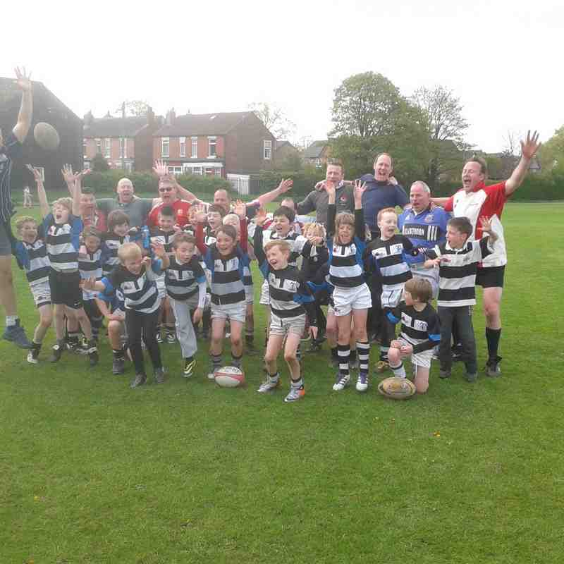 U9's (then 8's) v Old Boys: April 14