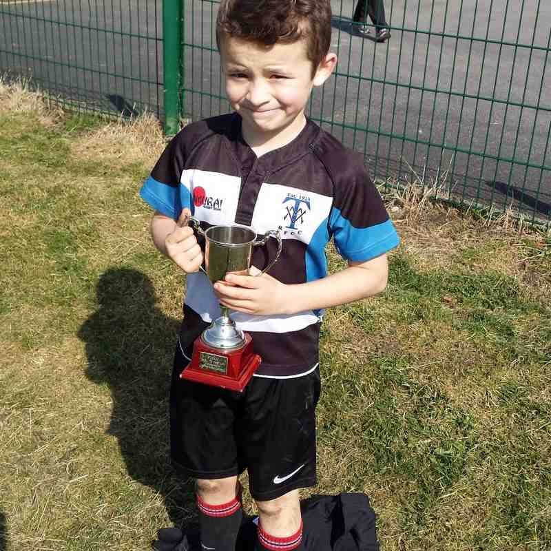 TMV U9's v Heaton Moor - Player of the Day