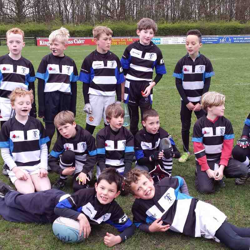 U9's Sedgley Park Away - 12th April 2015