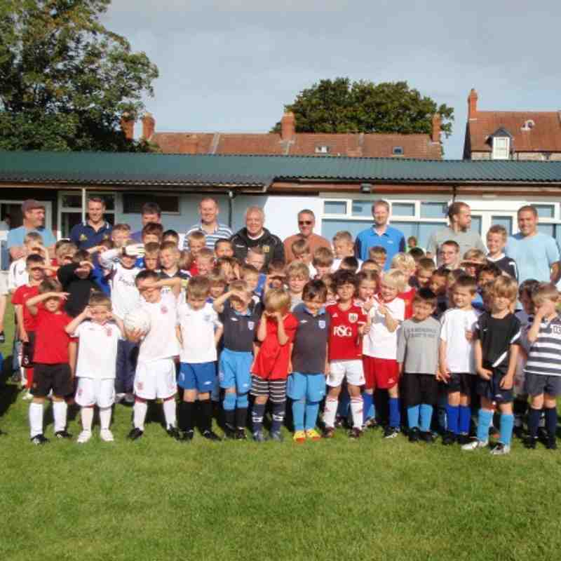 SOCCER SCHOOL SEPT 2012