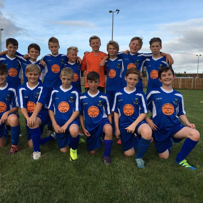 Under 13's beat Newport County JPL U13 3 - 4