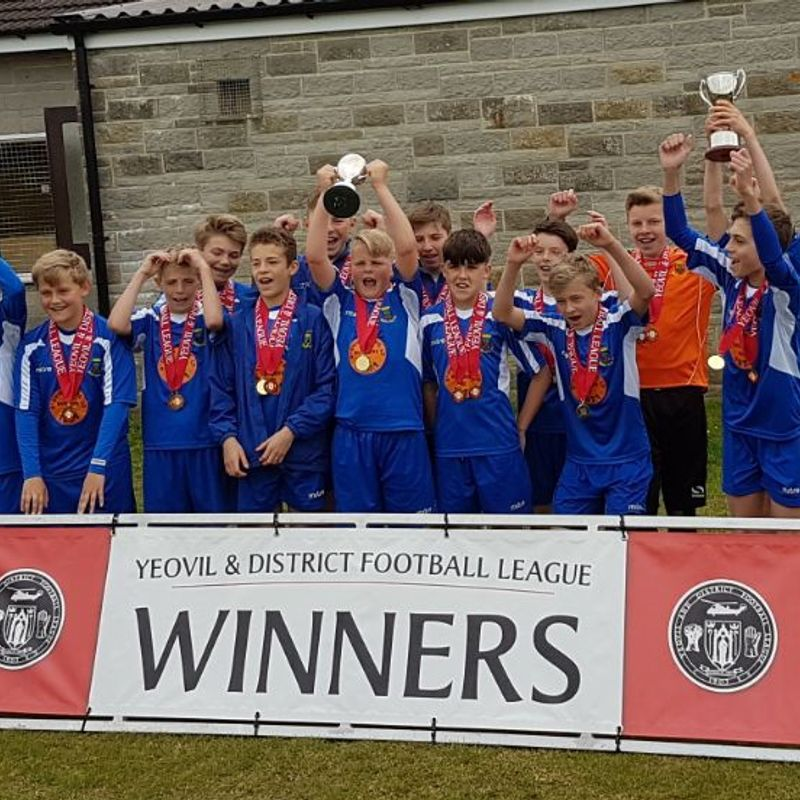 U13 ADD DIVISION 1 CUP TO THE LEAGUE TITLE