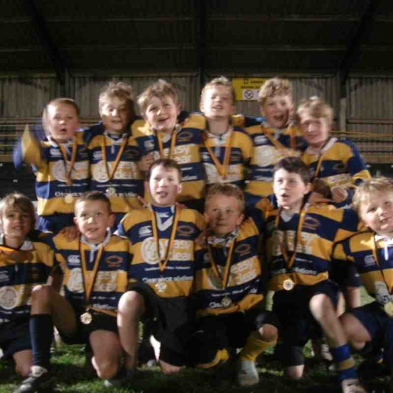 U9 Exiles Winners at Floodlight Festival Esher 2010/11