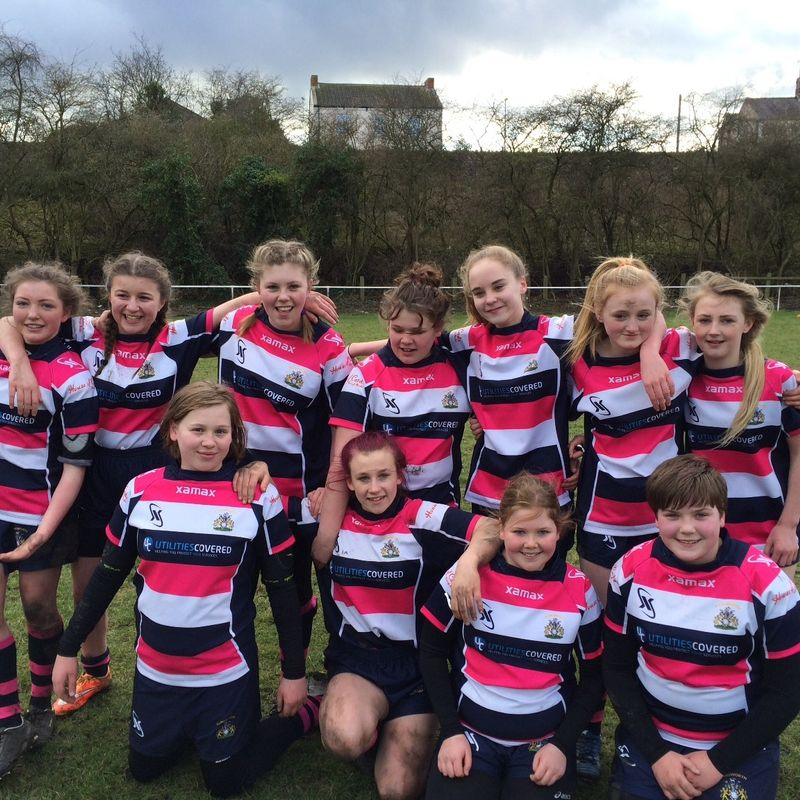 Under 14's Girls lose to Whitley bay 36 - 0