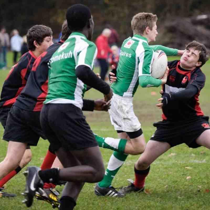 04-12-11 Horsham U14's vs. Haywards Heath