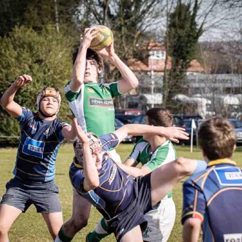 26-02-12 Horsham U14's vs. Guildford