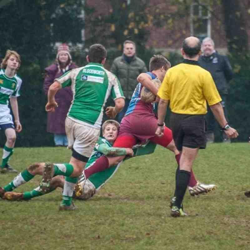 Horsham U16's vs. Hove (17/11/13)