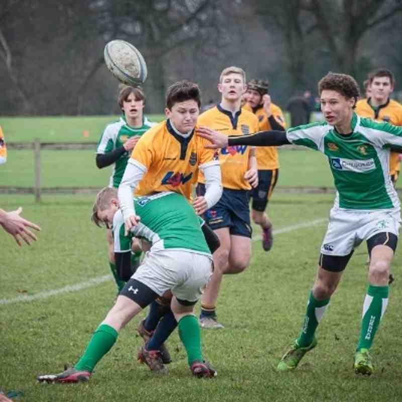 Horsham U16's vs. Worthing [12-01-14]