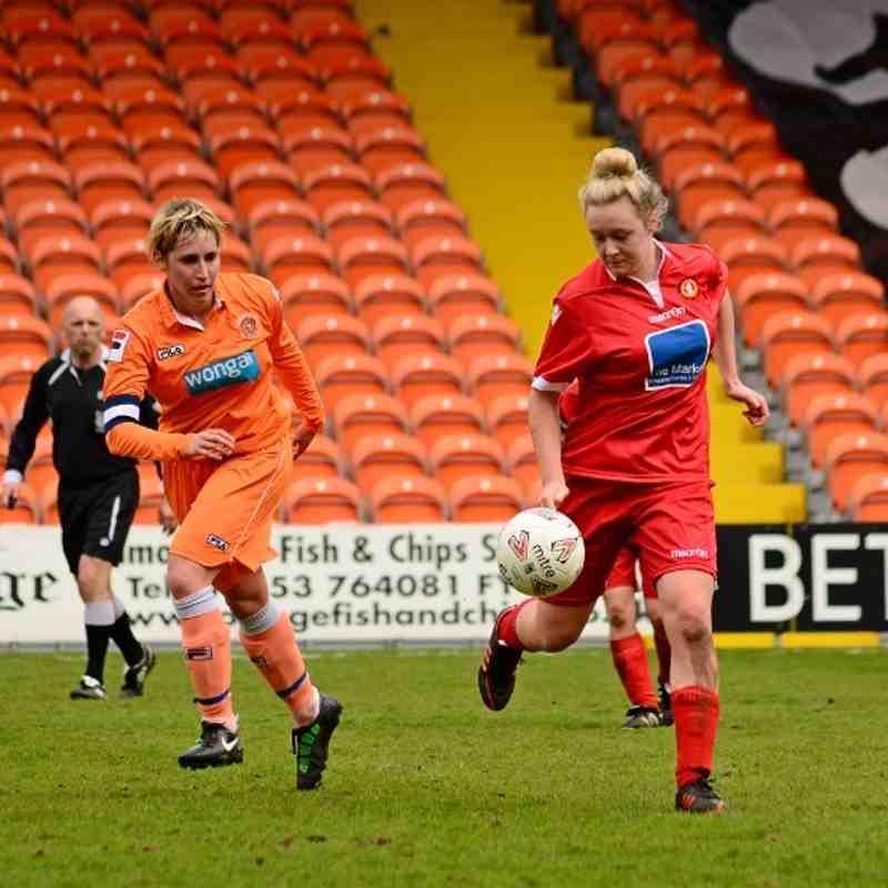 Vs Blackpool Ladies