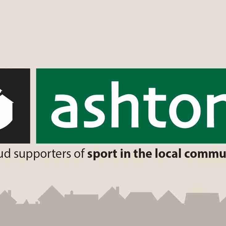Ashton's Estate Agents agree two year sponsorship deal