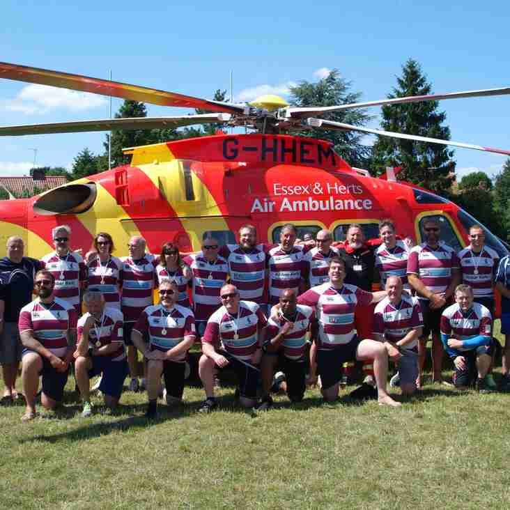 Essex & Herts Air Ambulance comes to Welwyn