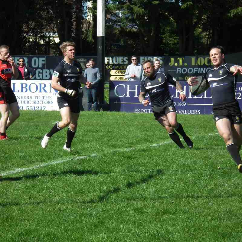 Brixham V Old Reds 18/4/2015