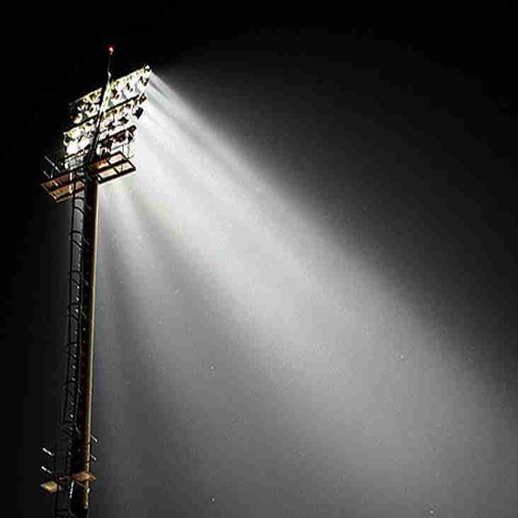 Friday night floodlit rugby at Astley Park