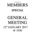 Members Special General Meeting